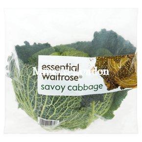 essential Waitrose savoy cabbage