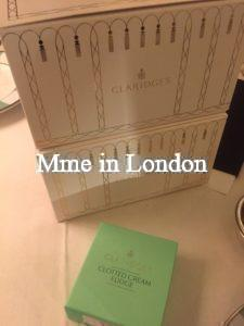 Claridge's afternoon tea